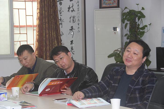 泰州市高港区投资促进会深圳分局刘治局长、张振洲副局长、栾静副局